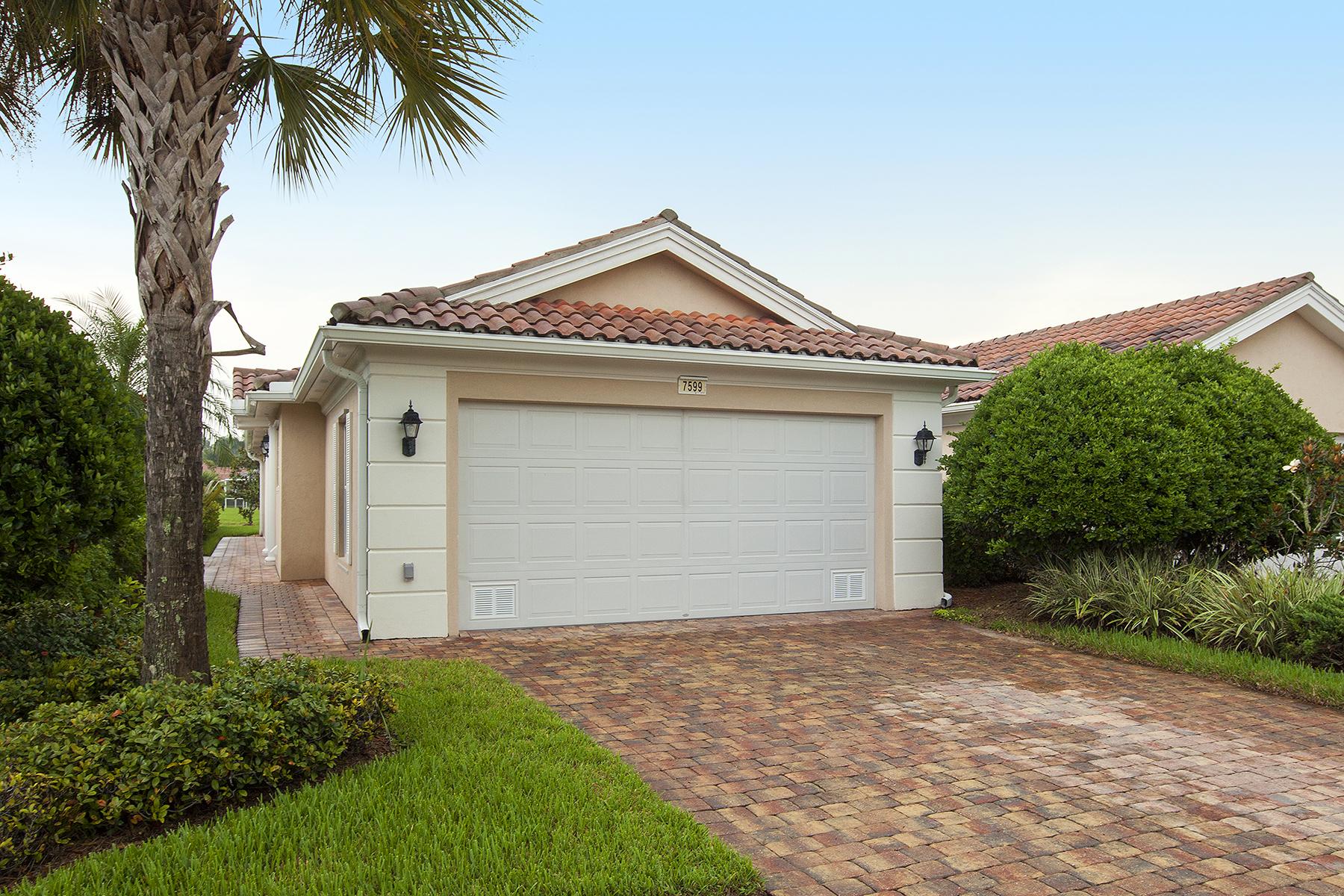 联栋屋 为 销售 在 VERONA WALK 7599 Novara Ct Naples, 佛罗里达州 34114 美国