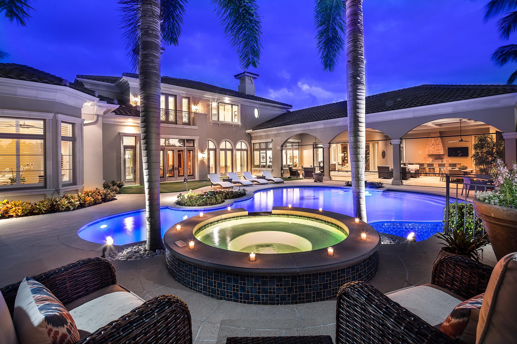 独户住宅 为 销售 在 1449 Nighthawk Pt, Naples, FL 34105 1449 Nighthawk Pt 那不勒斯, 佛罗里达州, 34105 美国