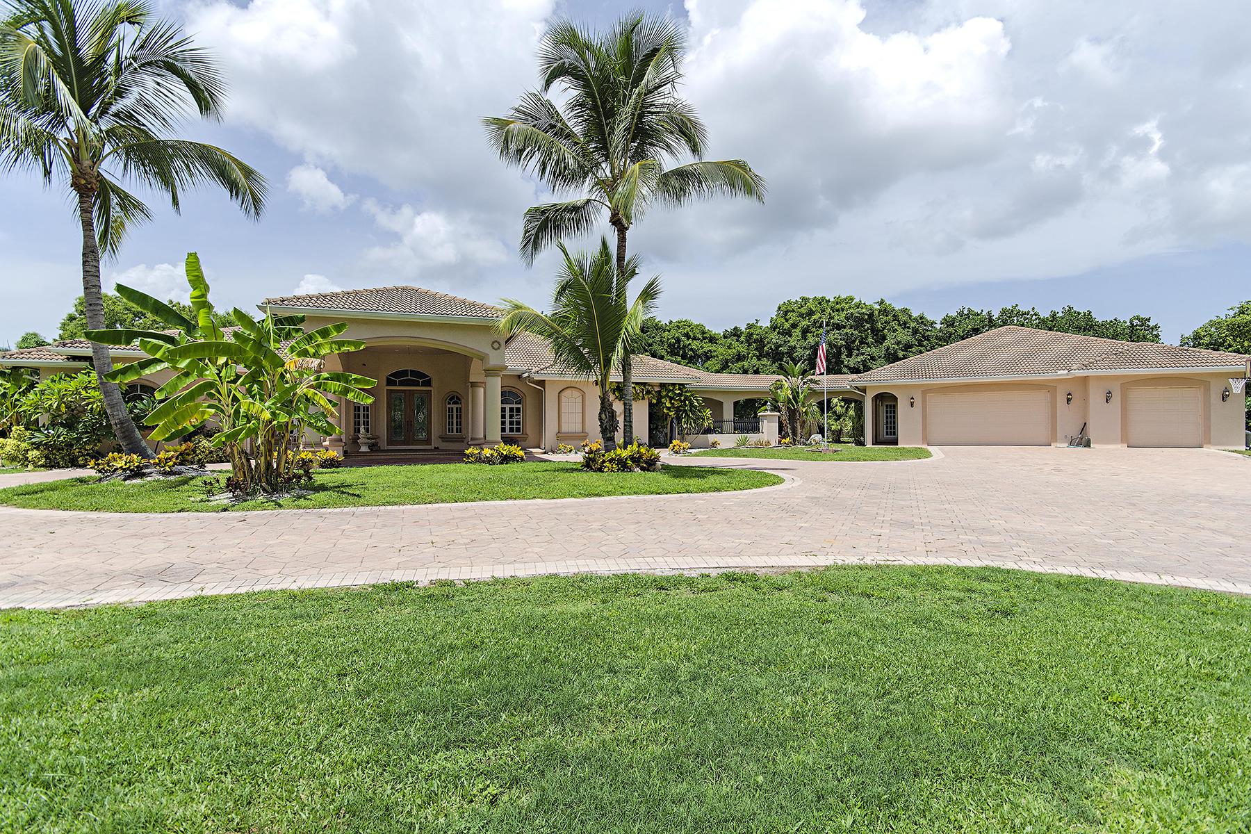 단독 가정 주택 용 매매 에 FT MYERS 15810 Cook Rd Fort Myers, 플로리다 33908 미국