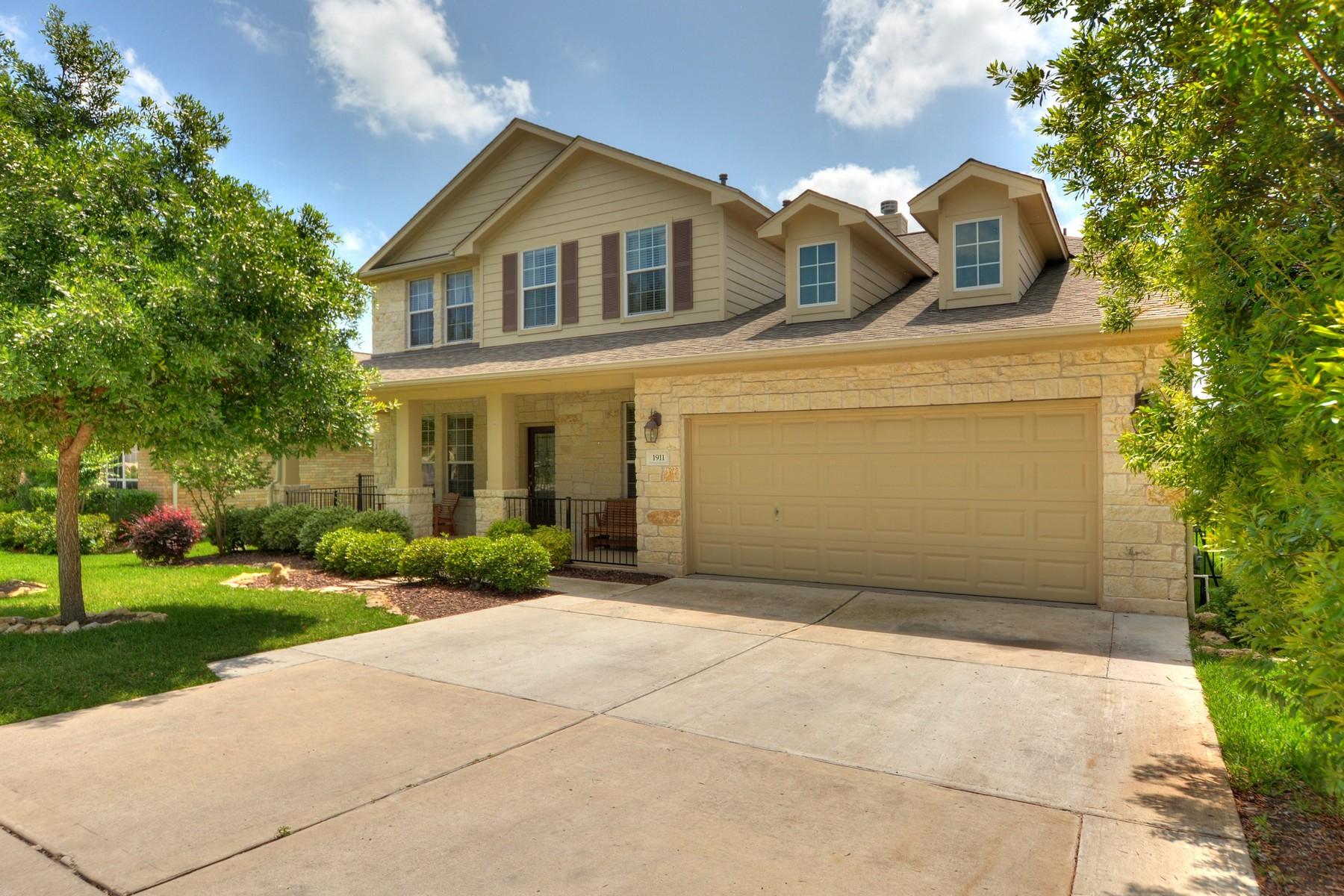 Vivienda unifamiliar por un Venta en Teravista Home with Beautiful Surroundings 1911 Windberry Path Round Rock, Texas 78665 Estados Unidos