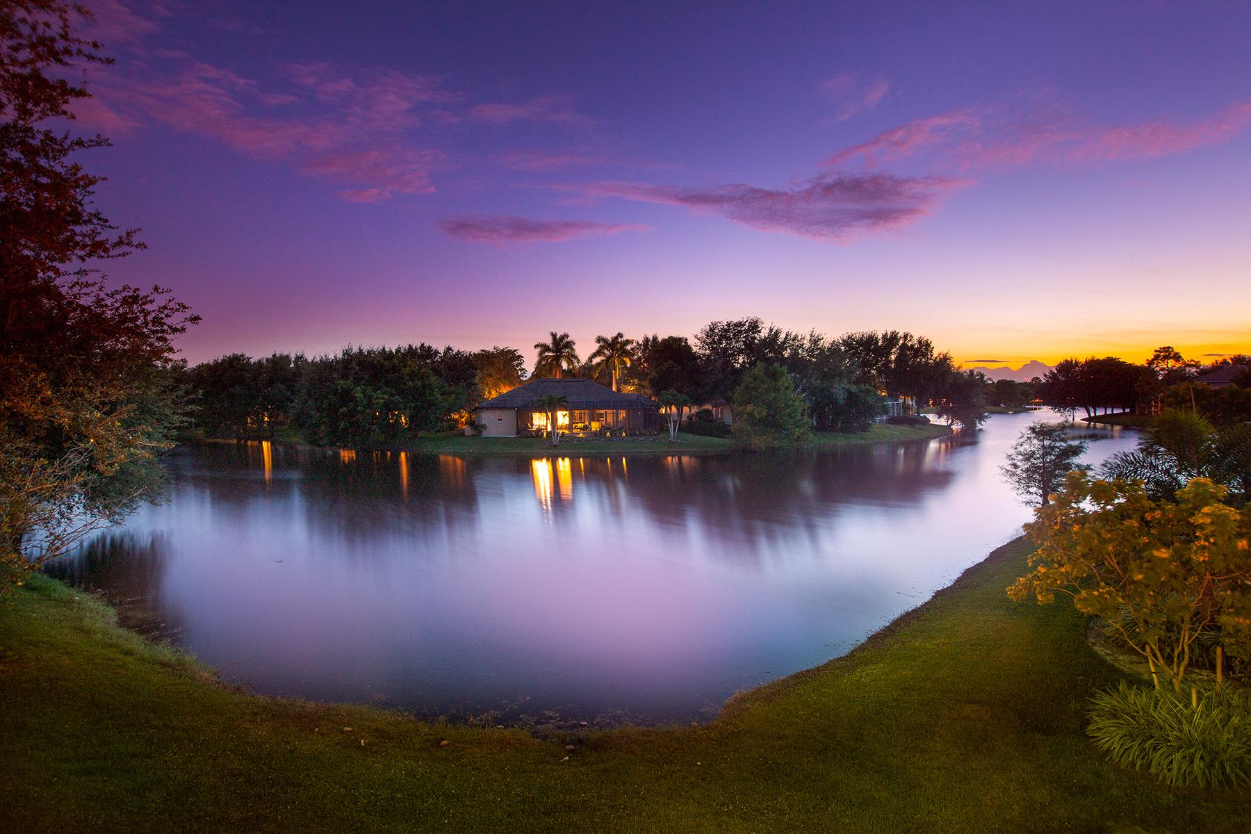 단독 가정 주택 용 매매 에 MONTEREY 2117 Mission Dr Naples, 플로리다 34109 미국