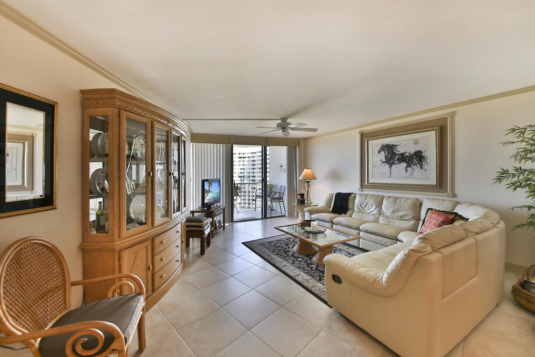 共管式独立产权公寓 为 销售 在 MARCO ISLAND - SOUTH SEAS 320 Seaview Ct 1408 Marco Island, 佛罗里达州 34145 美国