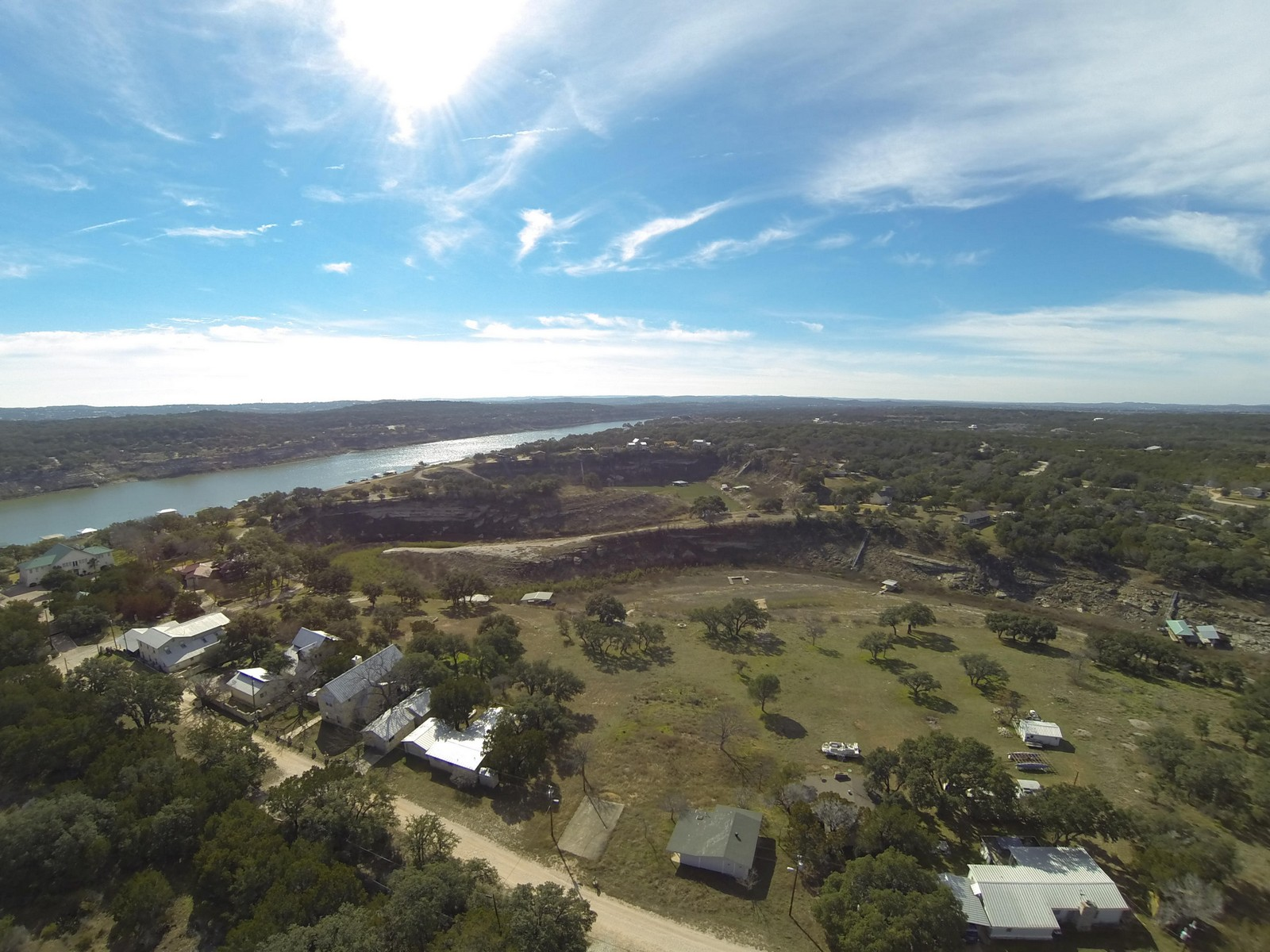 Terreno por un Venta en Great Build Site on Lake Travis 23633 Lakeside Dr Marble Falls, Texas 78654 Estados Unidos