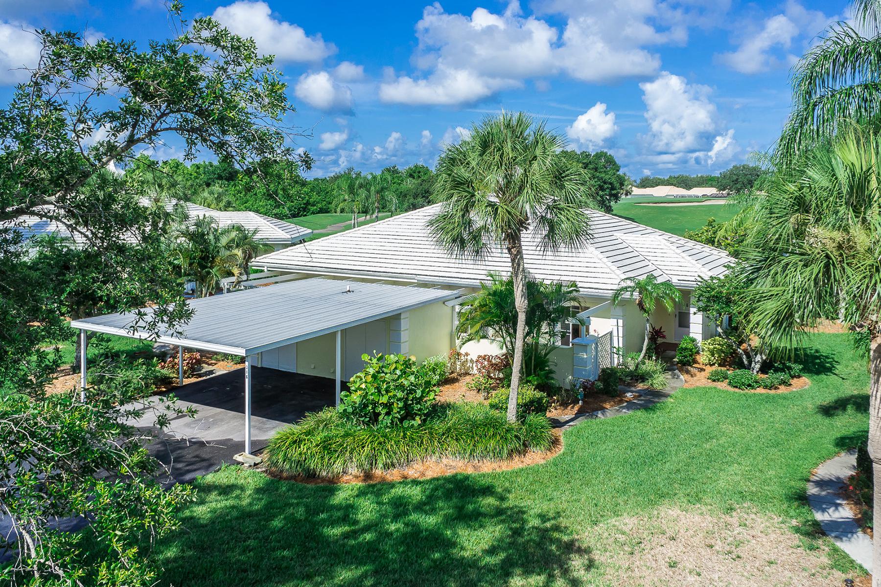 Таунхаус для того Продажа на PLANTATION GOLF & COUNTRY CLUB 316 Wexford Terr 167 Venice, Флорида, 34293 Соединенные Штаты