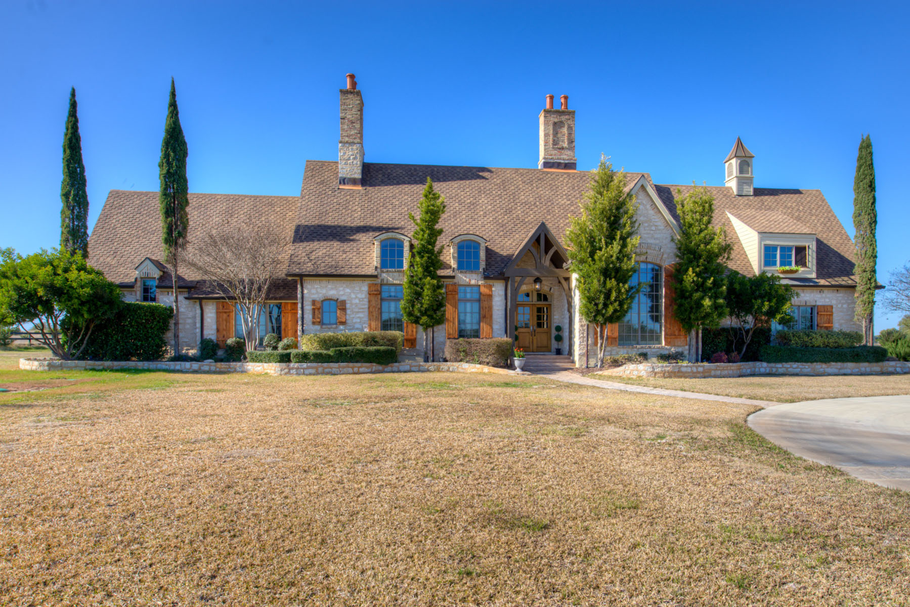 Single Family Home for Sale at 10 Acre Estate 25 Minutes from Downtown Austin 16640 FM 1826 Driftwood, Texas 78619 United States