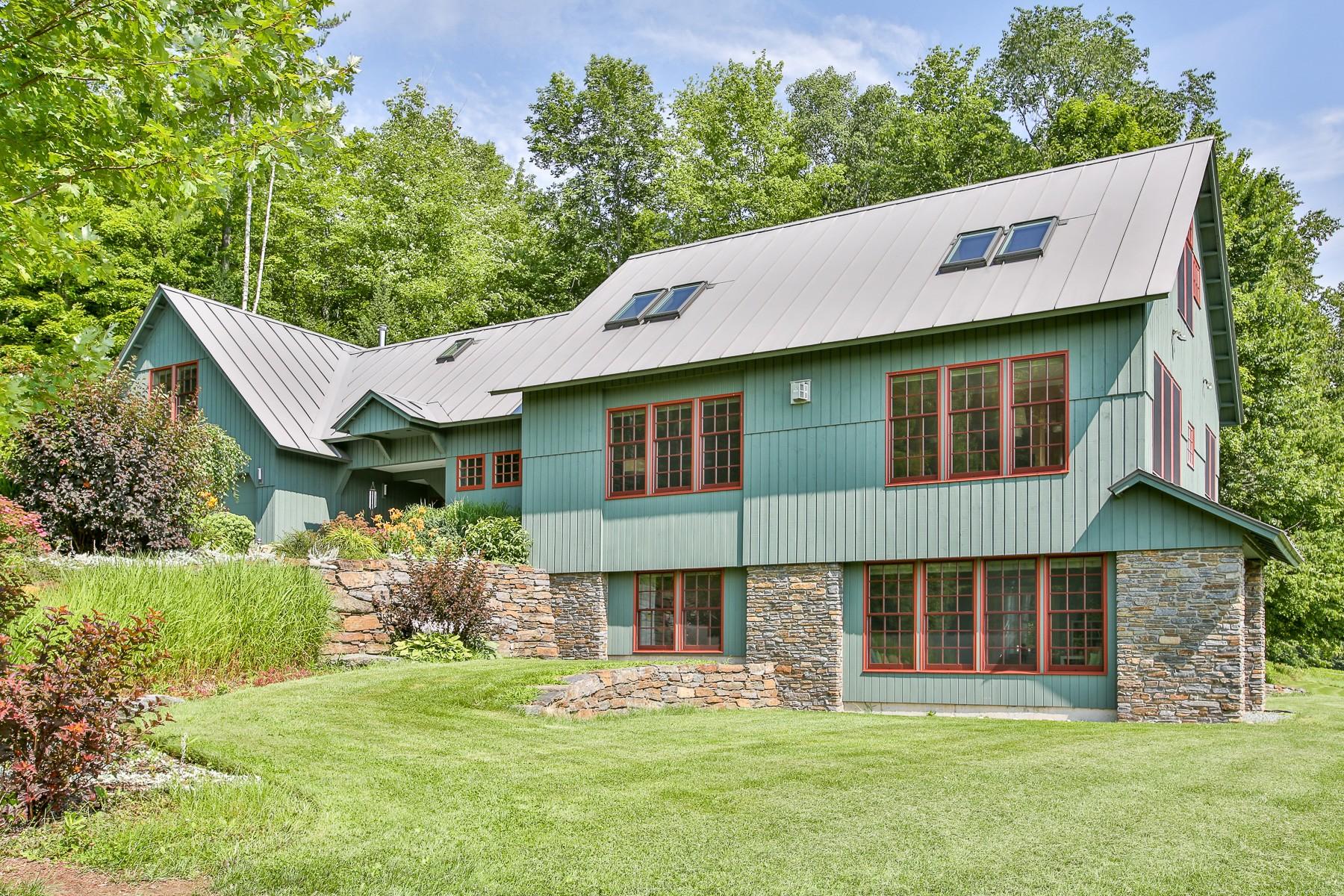 Einfamilienhaus für Verkauf beim Stunning Energy Efficient Custom Home 1659 Tower Rd Barnet, Vermont, 05821 Vereinigte Staaten