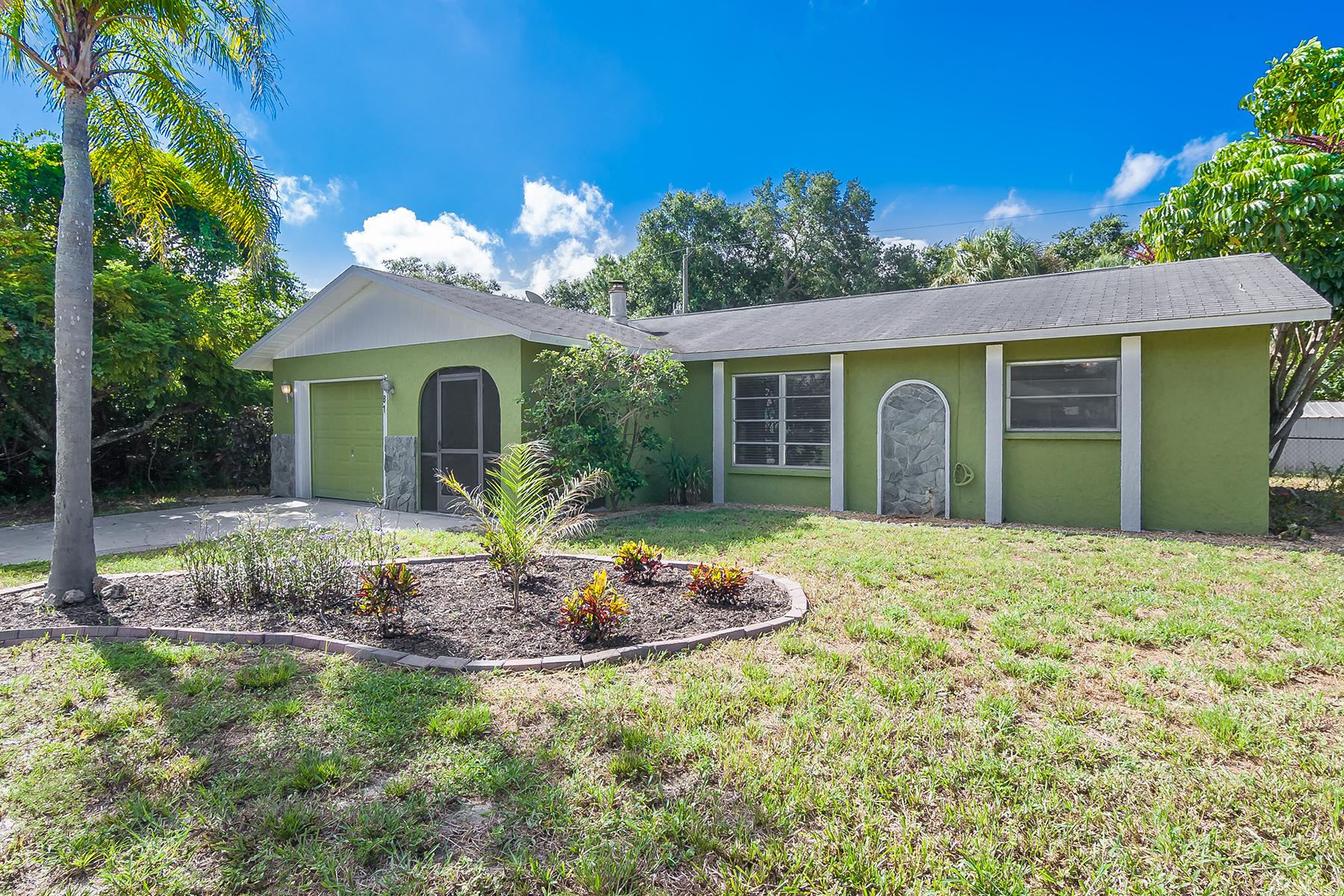 Casa Unifamiliar por un Venta en SOUTH VENICE 81 Rutgers Rd Venice, Florida, 34293 Estados Unidos