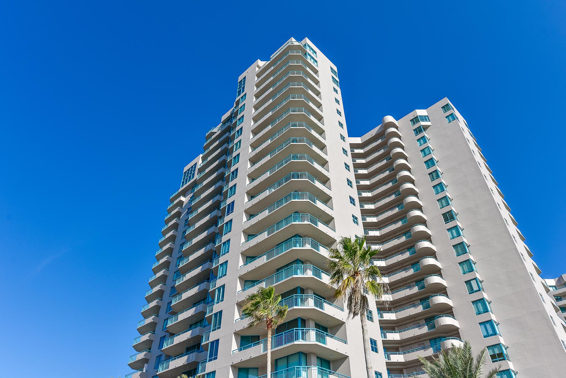 Piso por un Venta en CLEARWATER BEACH 1560 Gulf Blvd 1006 Clearwater Beach, Florida, 33767 Estados Unidos