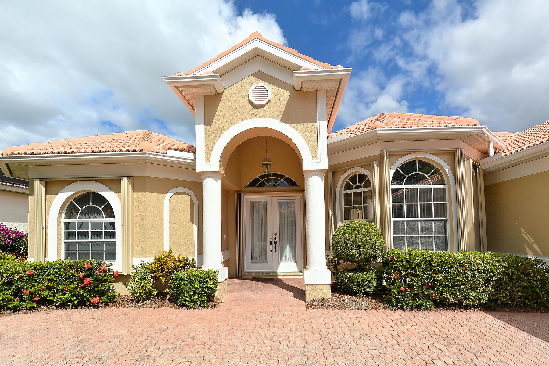 独户住宅 为 销售 在 VENETIA 4945 Bella Terra Dr 威尼斯, 佛罗里达州, 34293 美国