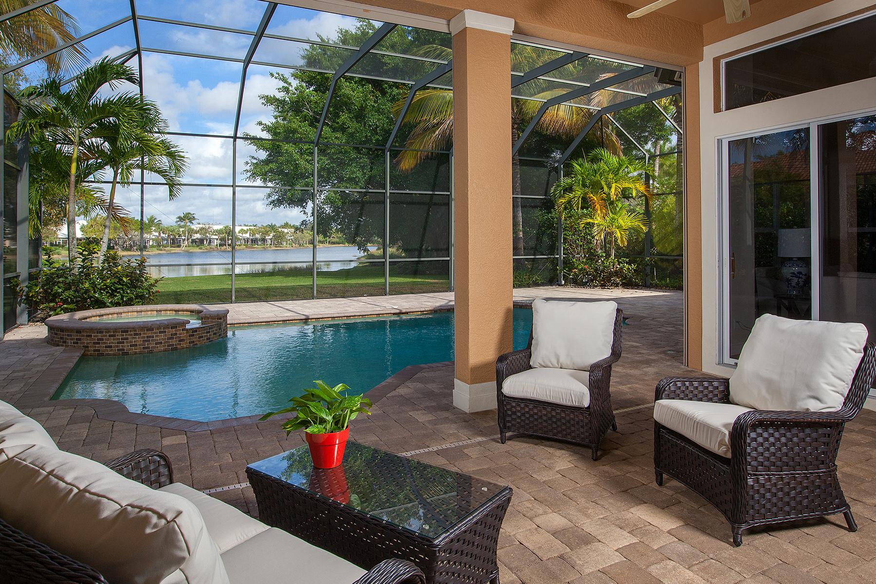 Частный односемейный дом для того Продажа на FIDDLER'S CREEK - MULBERRY ROW 7669 Mulberry Ct Naples, Флорида, 34114 Соединенные Штаты