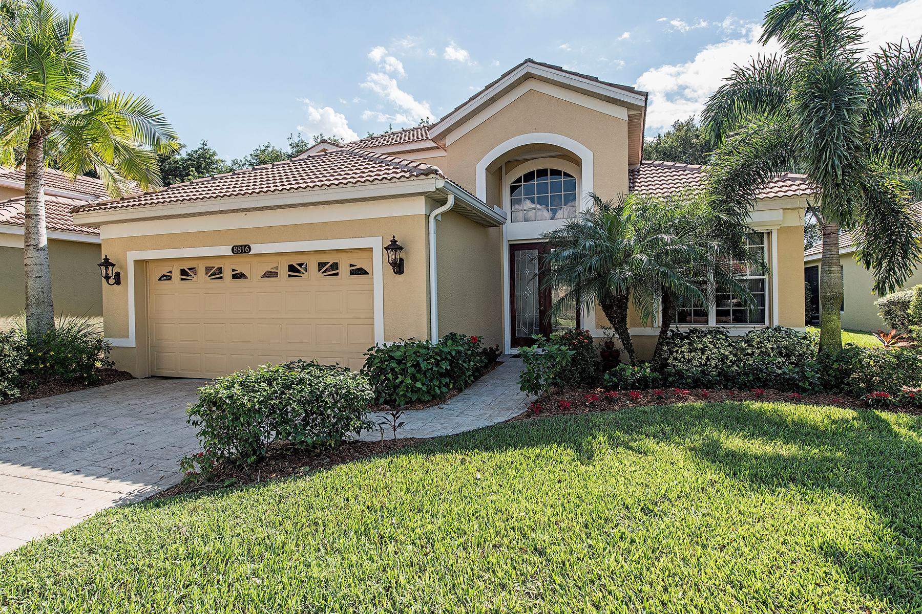 獨棟家庭住宅 為 出售 在 PELICAN MARSH - VENTURA 8816 Ventura Way Naples, 佛羅里達州 34109 美國