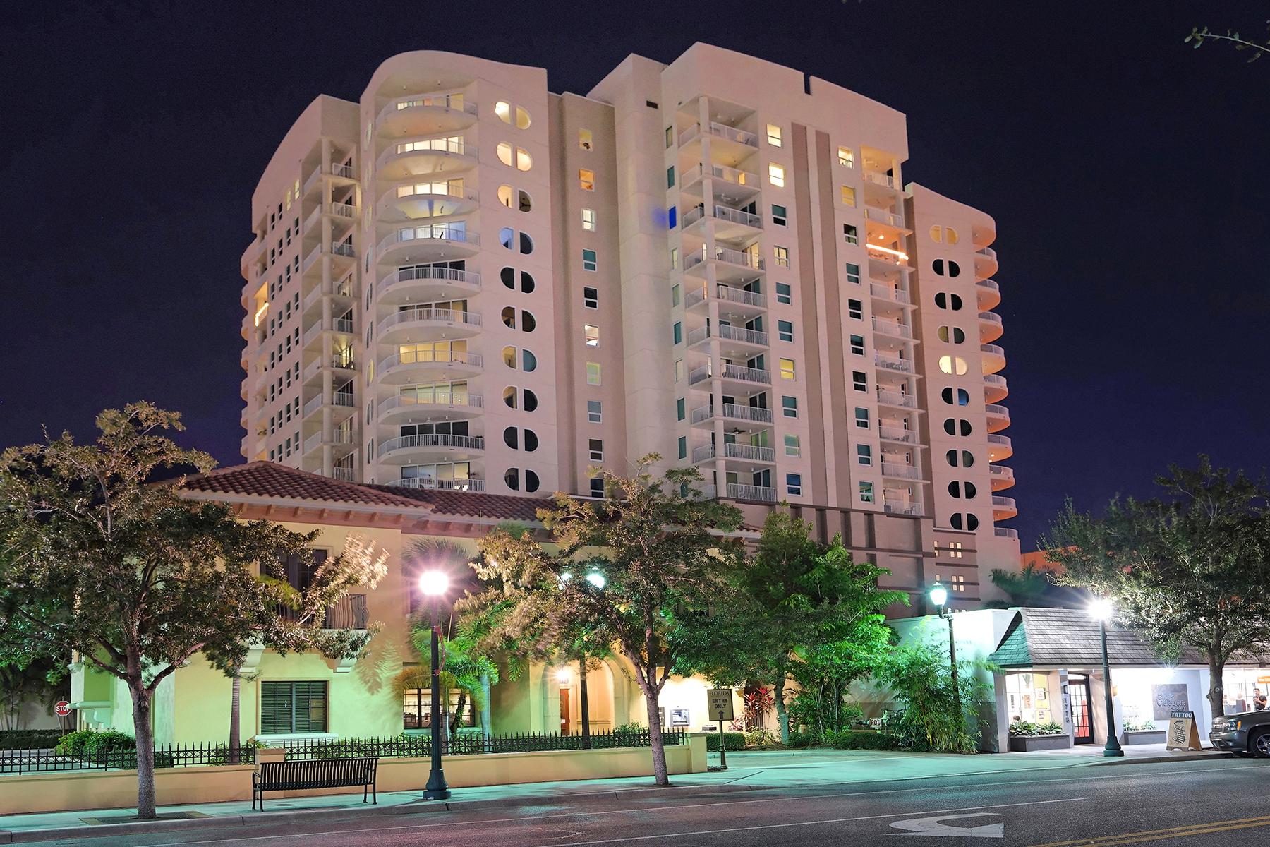 共管式独立产权公寓 为 销售 在 RIVO ON RINGLING 1771 Ringling Blvd 1104 萨拉索塔, 佛罗里达州, 34236 美国