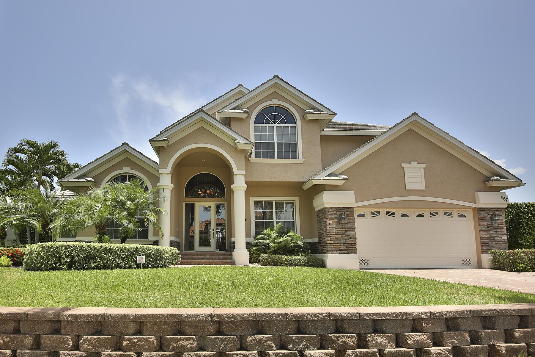 獨棟家庭住宅 為 出售 在 MARCO ISLAND - JOY CIRCLE 467 W Joy Cir Marco Island, 佛羅里達州 34145 美國