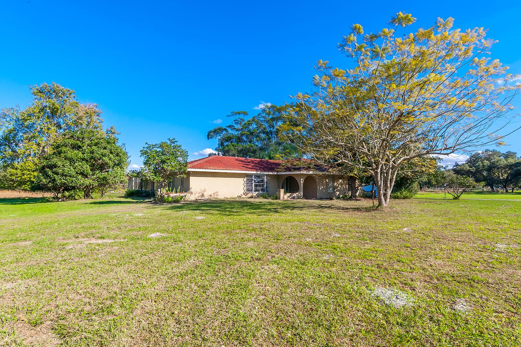 단독 가정 주택 용 매매 에 MYAKKA VALLEY RANCHES 6201 Singletree Trl Sarasota, 플로리다, 34241 미국