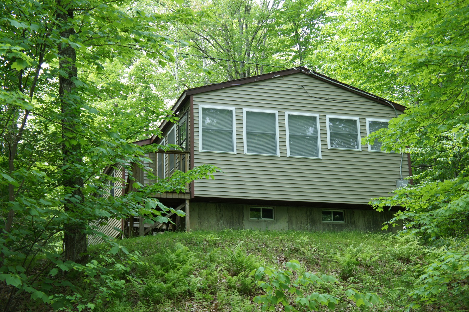 Частный односемейный дом для того Продажа на 167 Point Rd., Elmore Elmore, Вермонт, 05657 Соединенные Штаты