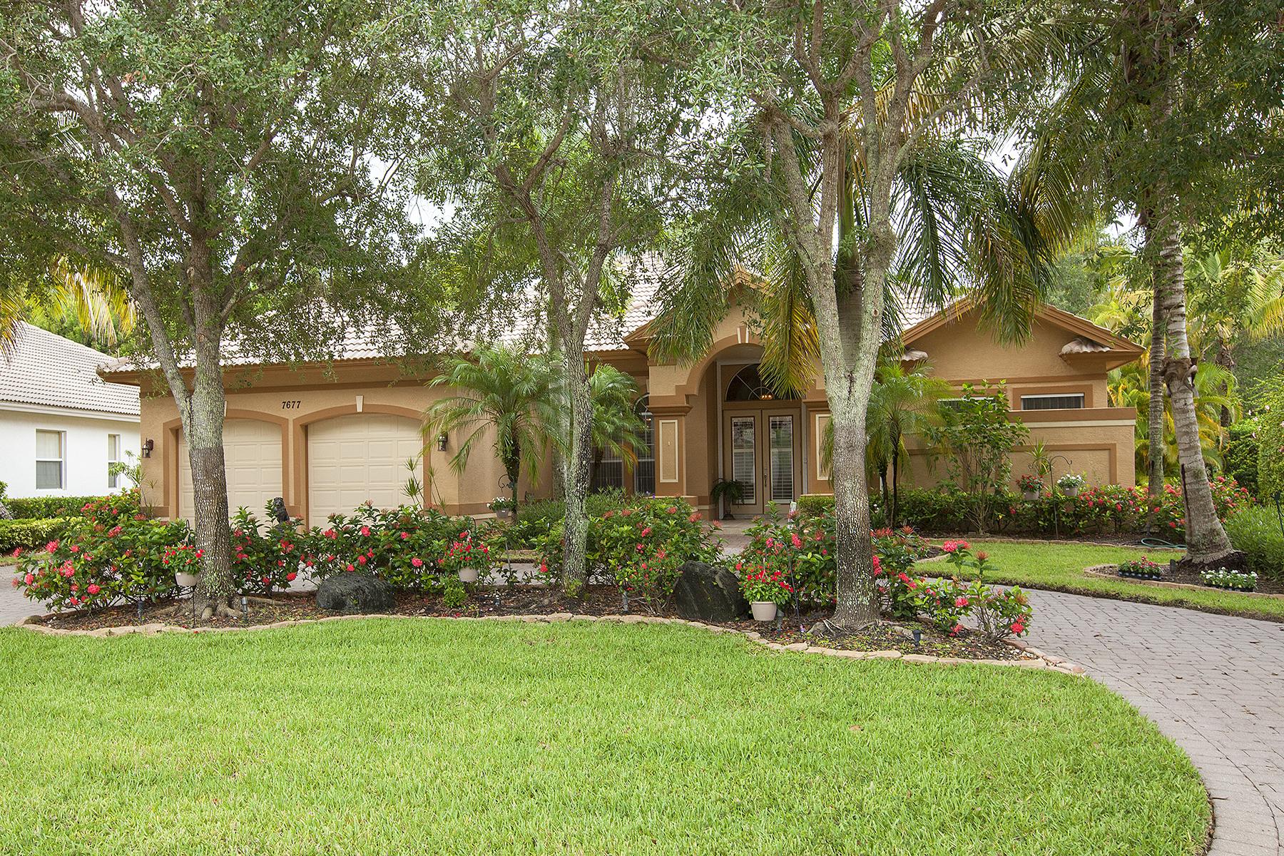 Maison unifamiliale pour l Vente à FIDDLER'S CREEK - MULBERRY ROW 7677 Mulberry Ln Naples, Florida 34114 États-Unis