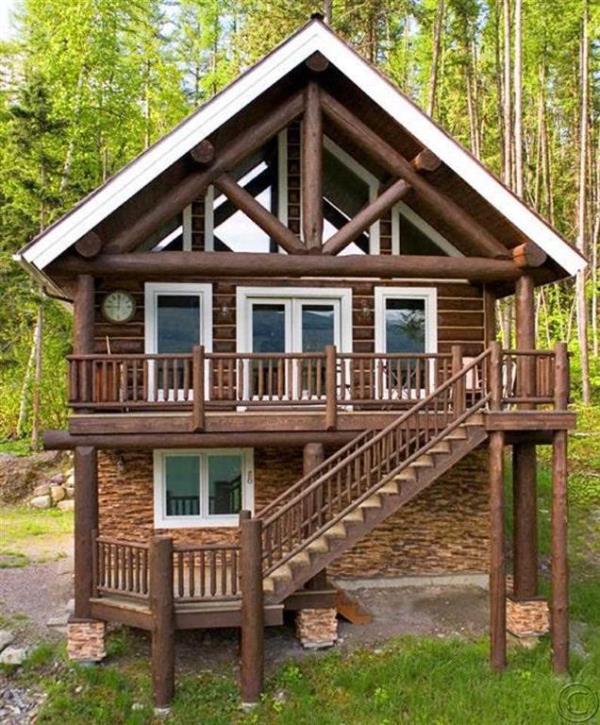 Single Family Home for Sale at 757 Delrey Road 757 Delrey Whitefish Lake, Whitefish, Montana, 59937 United States