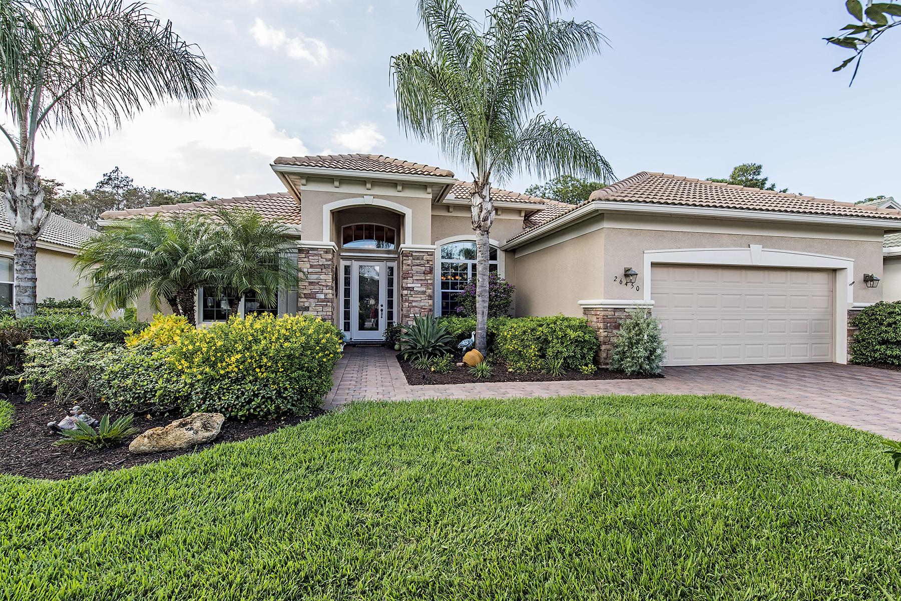 Casa para uma família para Venda às HAWTHORNE - EMORY OAKS 26450 Doverstone St Bonita Springs, Florida, 34135 Estados Unidos