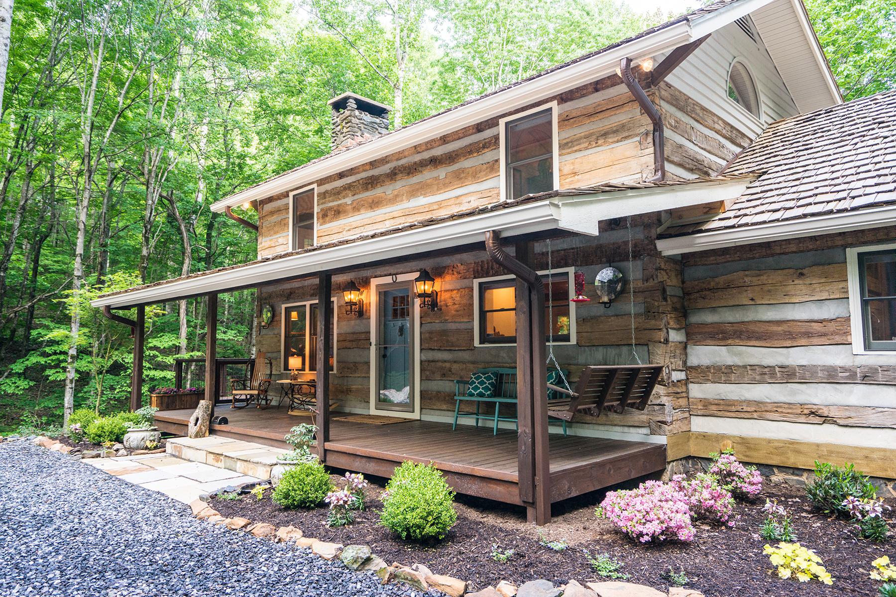 獨棟家庭住宅 為 出售 在 TODD - STONEBRIDGE 219 Falls Creek Road Rd Todd, 北卡羅來納州, 28684 美國
