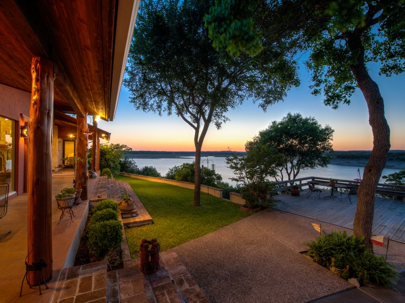Single Family Home for Sale at Indescribable Lake Travis Home 14531 Ridgetop Ter Austin, Texas 78732 United States