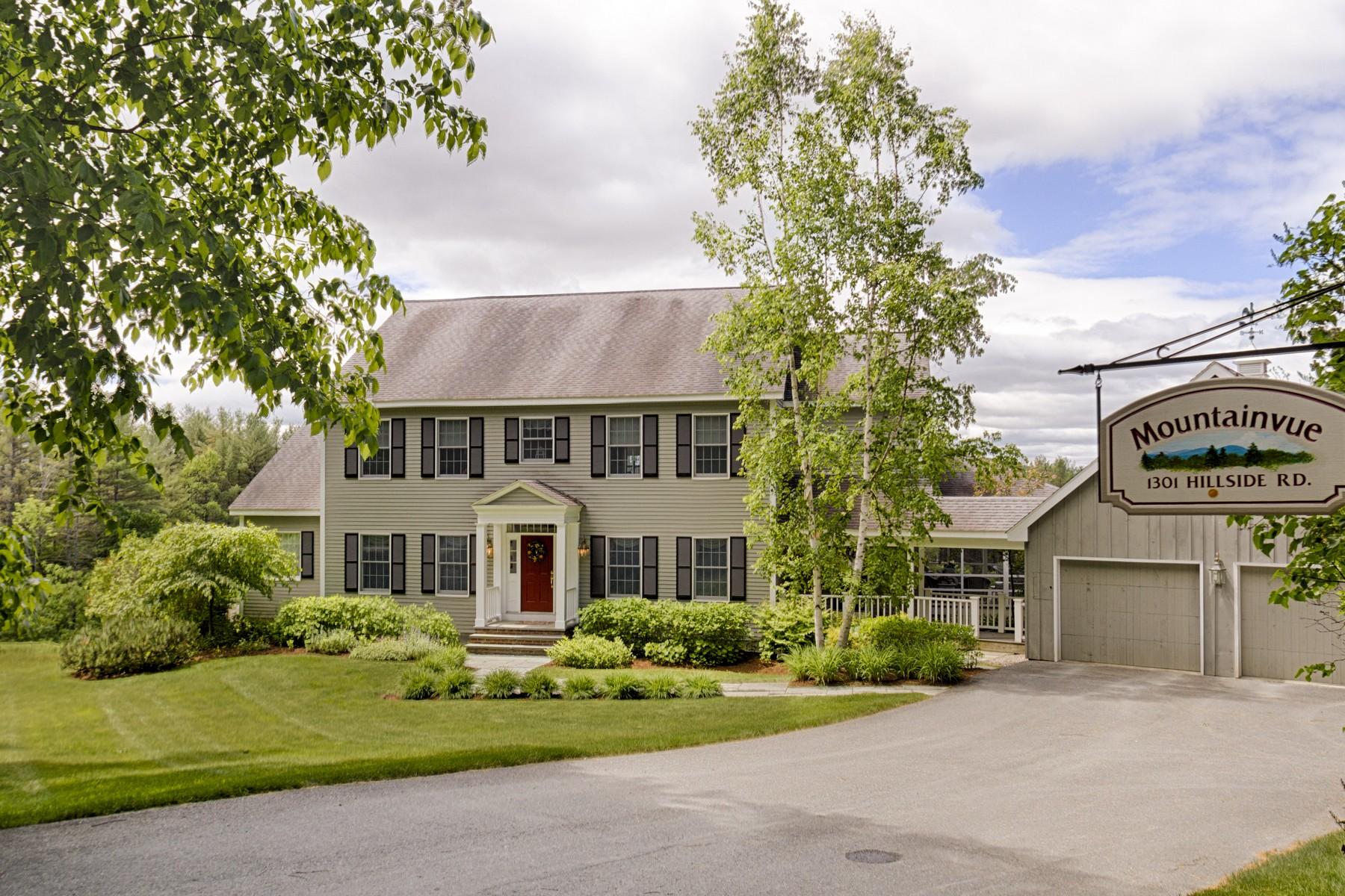 Casa para uma família para Venda às 1301 Hillside Road, Hartford 1301 Hillside Rd Hartford, Vermont, 05059 Estados Unidos
