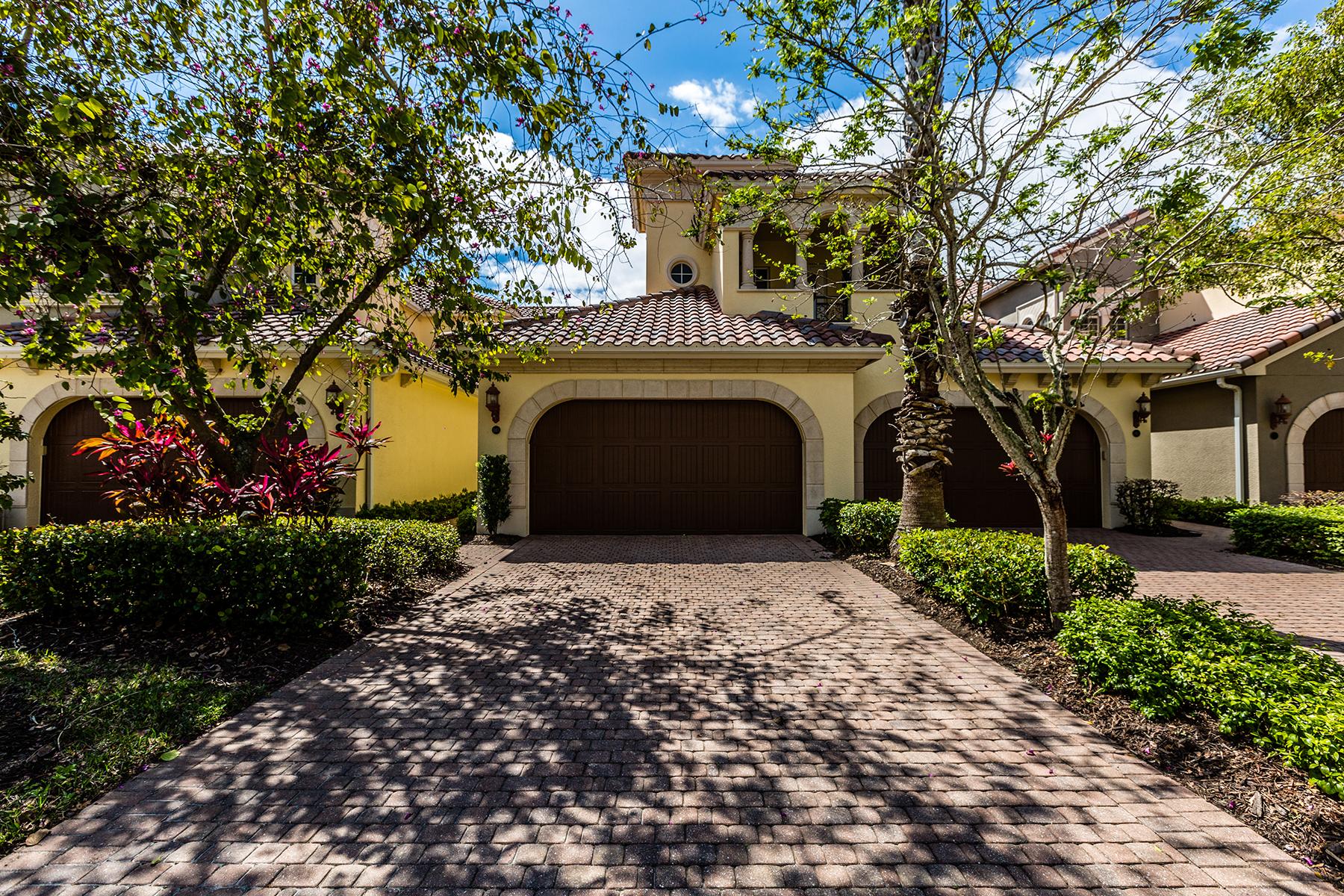 Кооперативная квартира для того Продажа на FIDDLER'S CREEK - MONTREUX 3710 Montreux Ln 103 Naples, Флорида, 34114 Соединенные Штаты