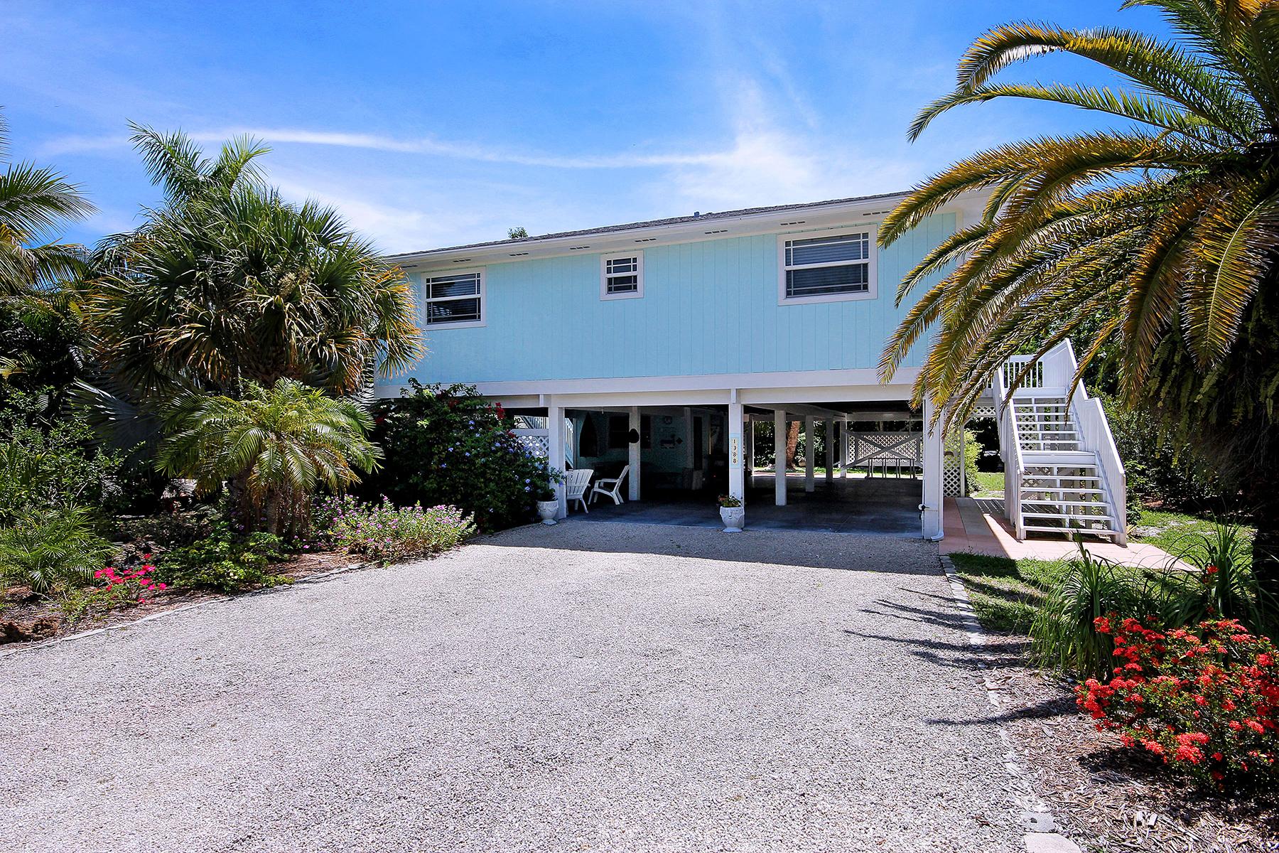 Maison unifamiliale pour l Vente à 1388 Tahiti Dr , Sanibel, FL 33957 1388 Tahiti Dr Sanibel, Florida 33957 États-Unis