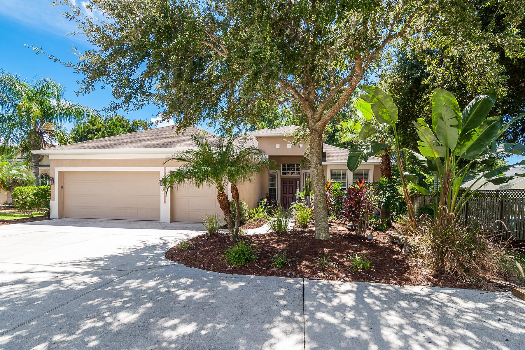 Vivienda unifamiliar por un Venta en SUMMERWOOD 5721 Old Summerwood Blvd Sarasota, Florida, 34232 Estados Unidos