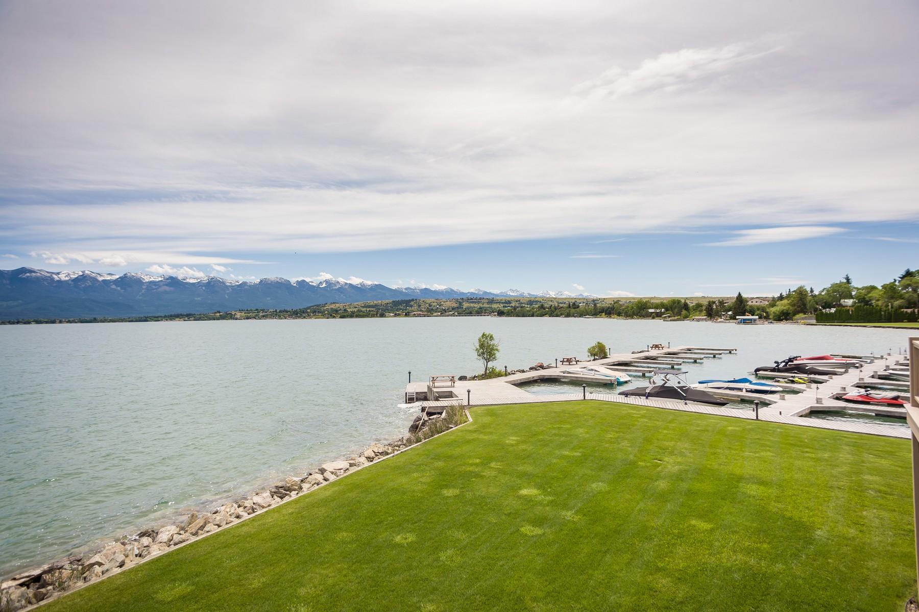 共管物業 為 出售 在 Bear Harbor Condo 100 Rocky Point Rd Polson, 蒙大拿州, 59860 美國