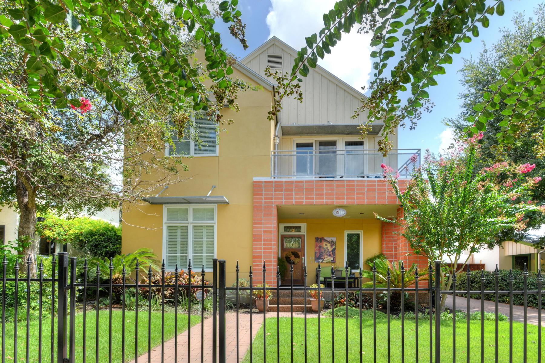 独户住宅 为 销售 在 Contemporary Living in the Heart of King William 314 Madison King William, San Antonio, 得克萨斯州 78204 美国