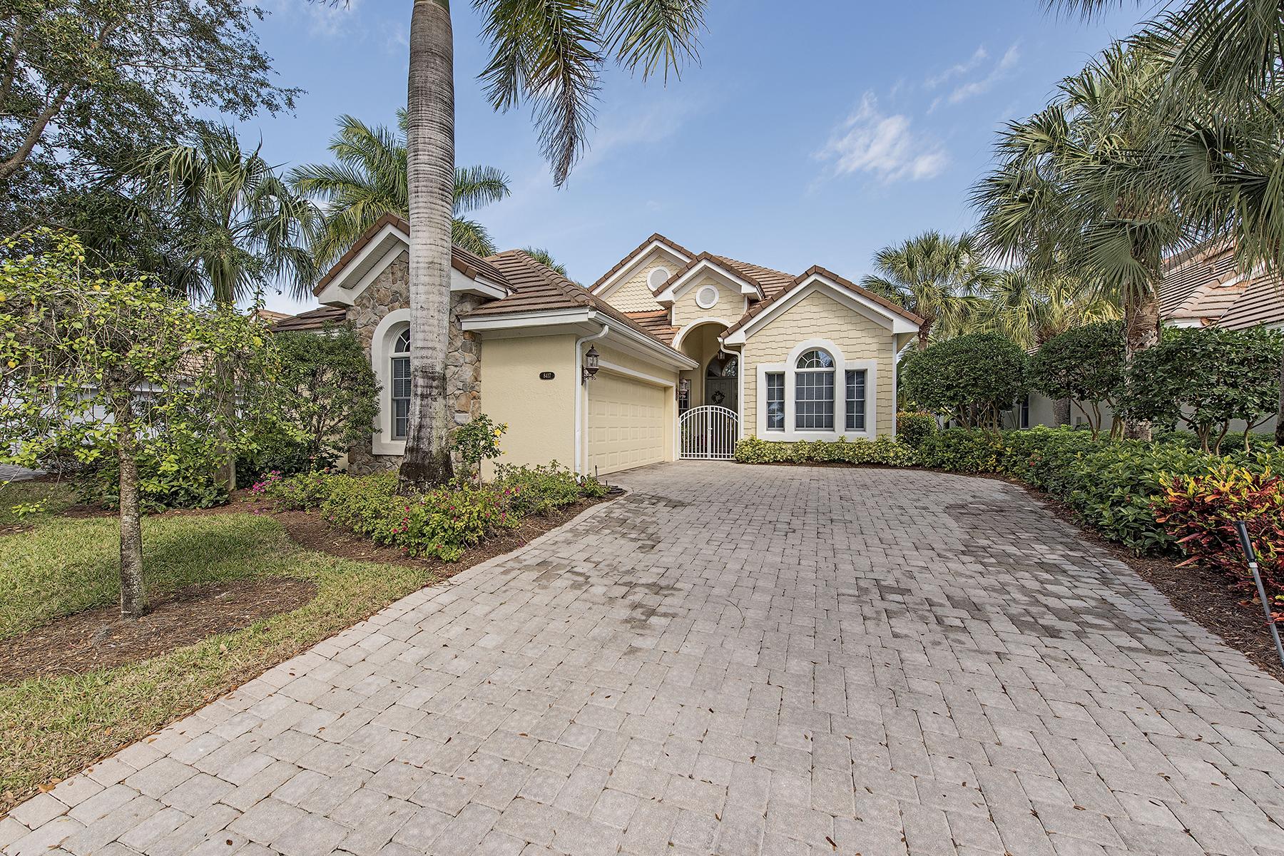 独户住宅 为 销售 在 FIDDLER'S CREEK - MALLARDS LANDING 8417 Mallards Way Naples, 佛罗里达州 34114 美国