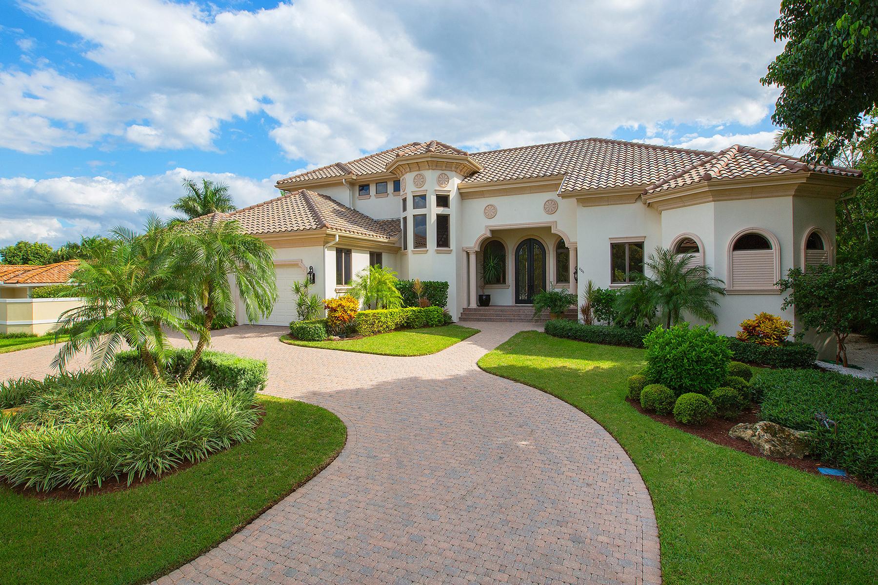 一戸建て のために 売買 アット MOORINGS 606 Binnacle Dr Naples, フロリダ, 34103 アメリカ合衆国
