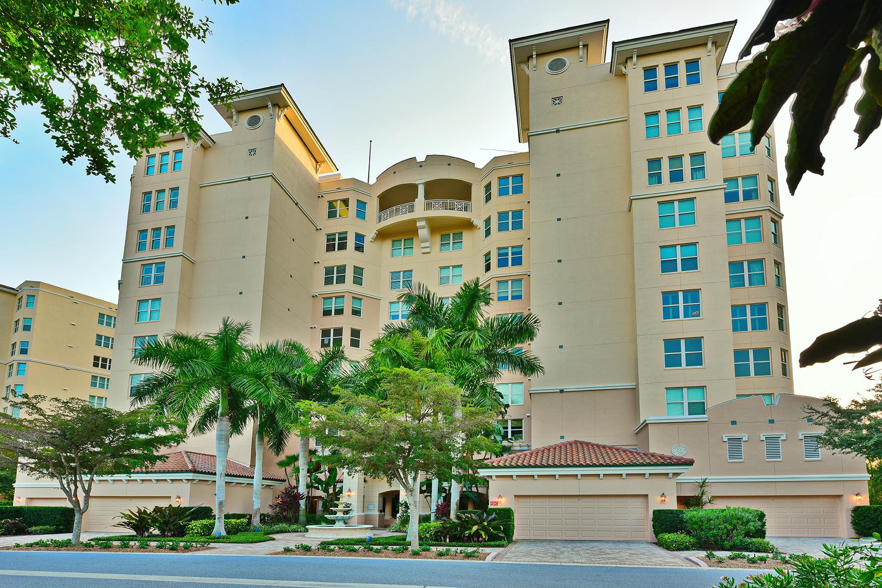 Copropriété pour l Vente à MERIDIAN AT THE OAKS PRESERVE 401 N Point Rd 501 Osprey, Florida 34229 États-Unis