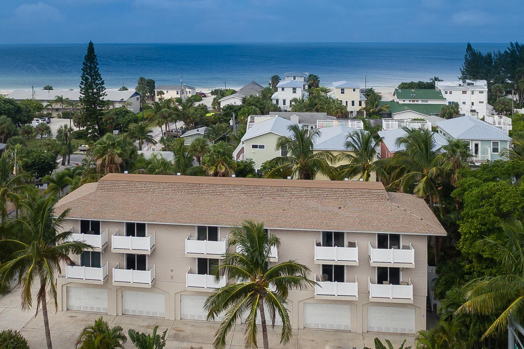 Appartement en copropriété pour l Vente à HOLMES BEACH 3100 Gulf Dr 4 Holmes Beach, Florida, 34217 États-Unis