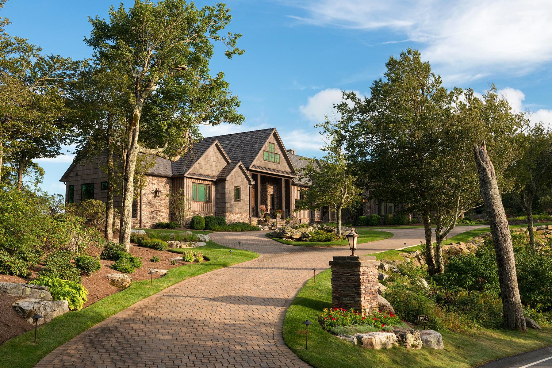 獨棟家庭住宅 為 出售 在 LINVILLE RIDGE 1908 Flattop Cliffs Drive Linville, 北卡羅來納州, 28646 美國