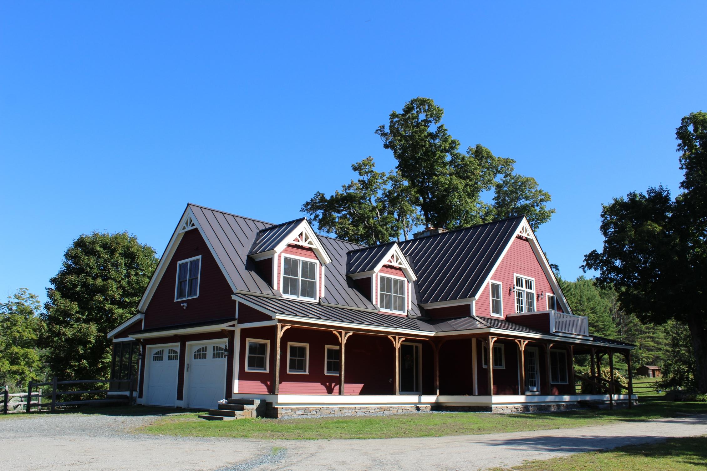 Maison unifamiliale pour l Vente à 32 White Swan Farm Road, Cornish 32 White Swan Farm Rd Cornish, New Hampshire 03746 États-Unis