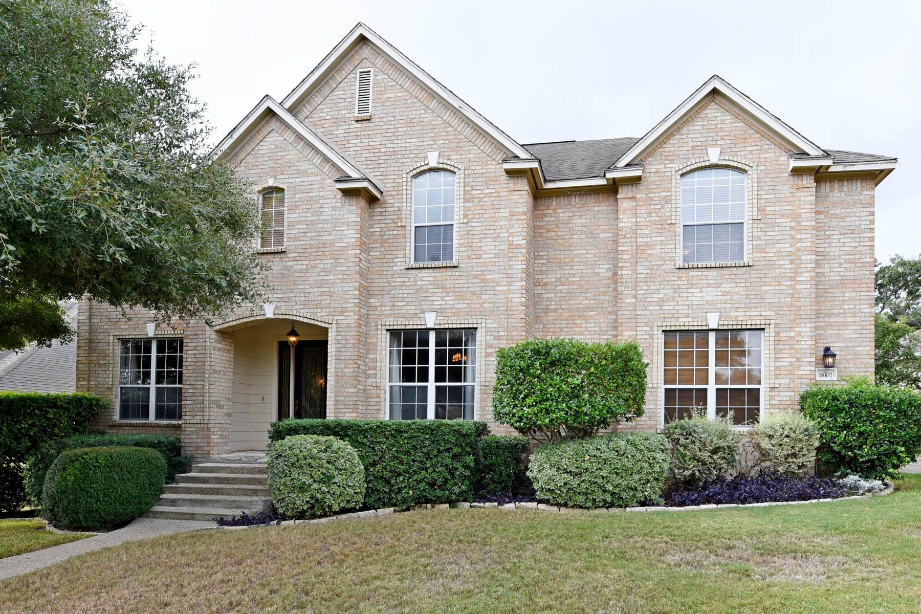 Single Family Home for Sale at Stunning Home in the Prestigious North Stone Oak 18107 Keystone Bluff San Antonio, Texas 78258 United States