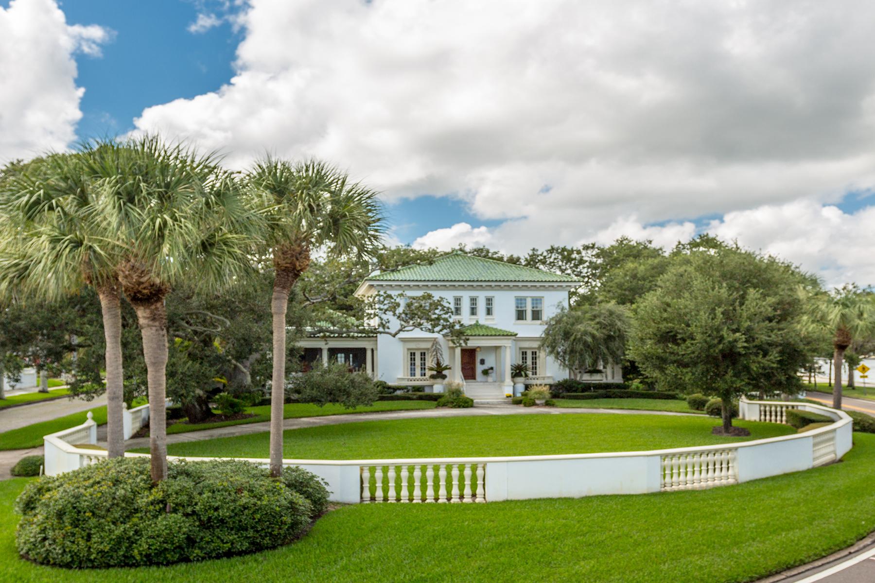 단독 가정 주택 용 매매 에 ST. PETERSBURG 1800 Northshore Dr NE Snell Isle, St. Petersburg, 플로리다, 33704 미국