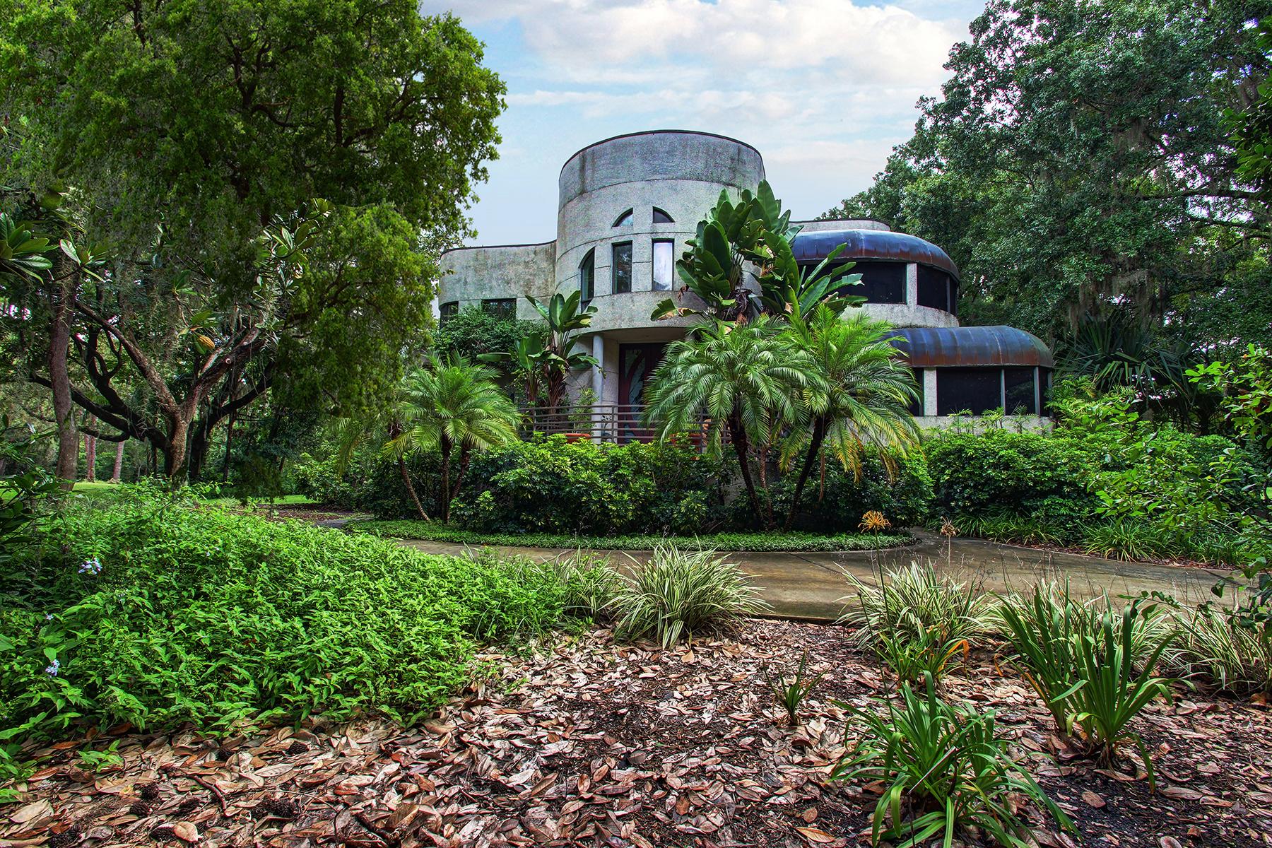 Maison unifamiliale pour l Vente à ODESSA 18109 Spencer Rd Odessa, Florida 33556 États-Unis