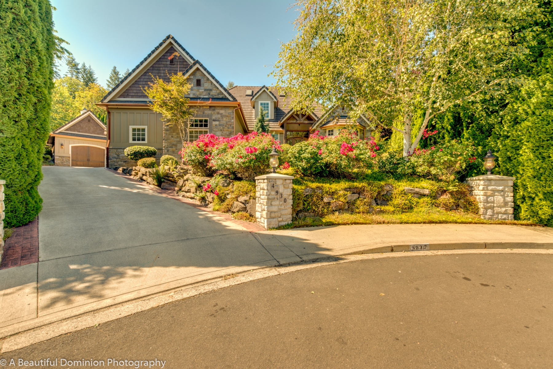 Single Family Home for Sale at Stunning in Lacamas Shores! 4930 NW SIERRA Ct Camas, Washington 98607 United States