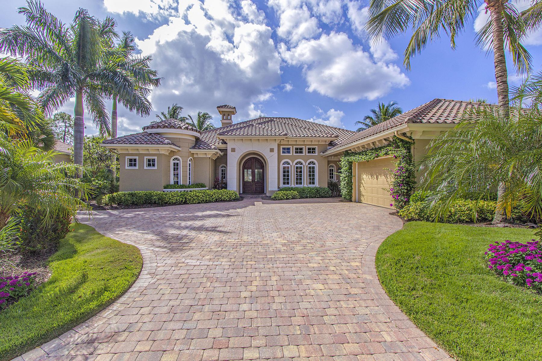 Maison unifamiliale pour l Vente à Naples 2906 Leonardo Ave Naples, Florida, 34119 États-Unis