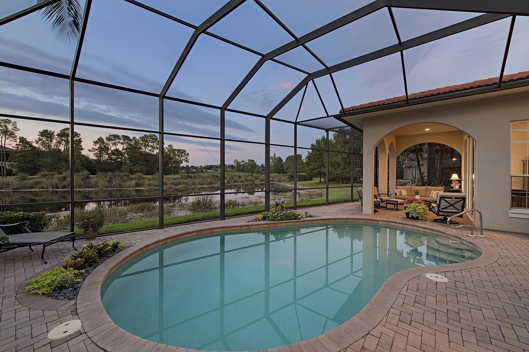 Частный односемейный дом для того Продажа на OLDE CYPRESS - SANTA ROSA 7395 Monteverde Way Naples, Флорида, 34119 Соединенные Штаты