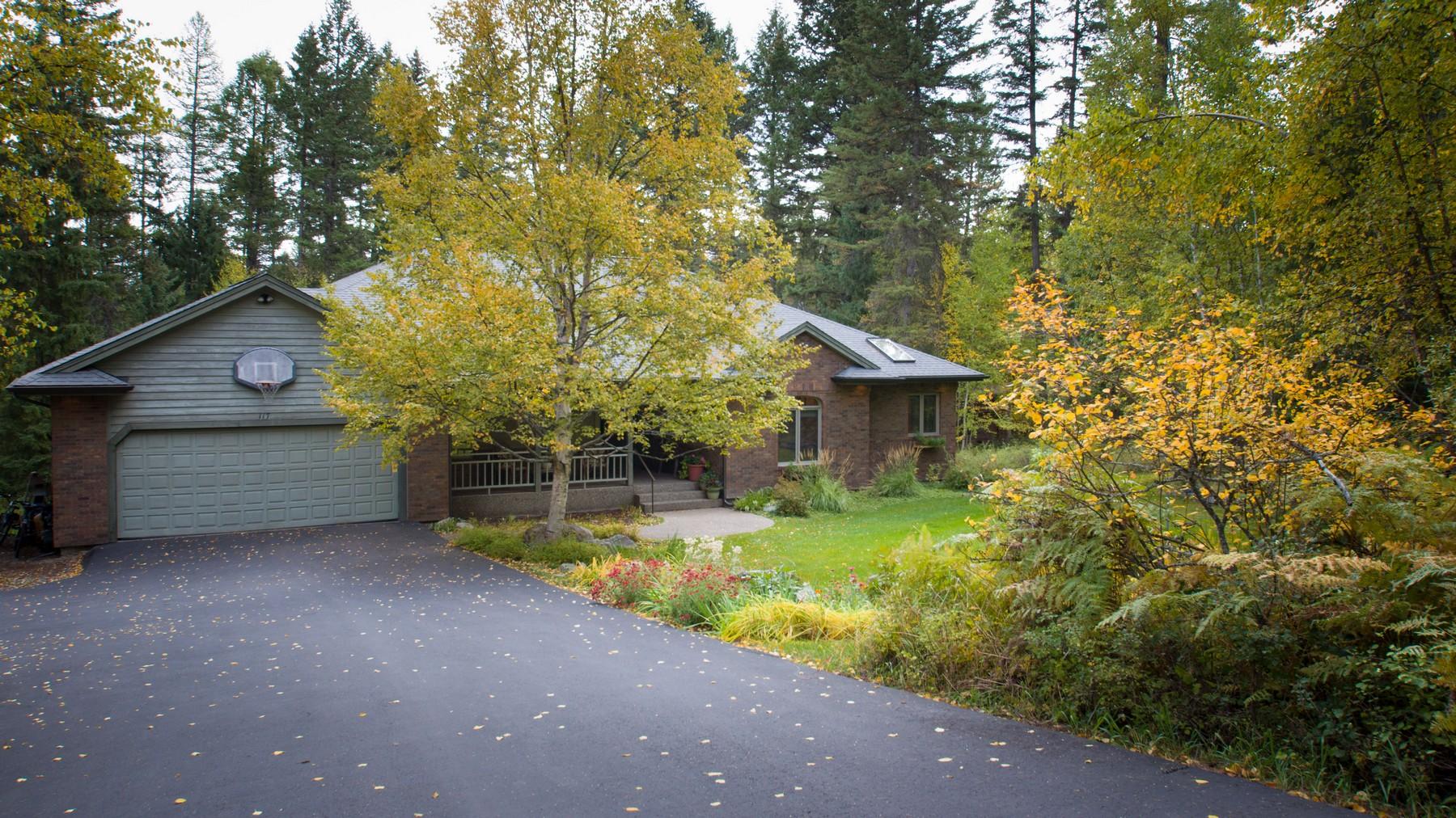 Casa Unifamiliar por un Venta en 117 Park Knoll Ln , Whitefish, MT 59937 117 Park Knoll Ln Whitefish, Montana, 59937 Estados Unidos