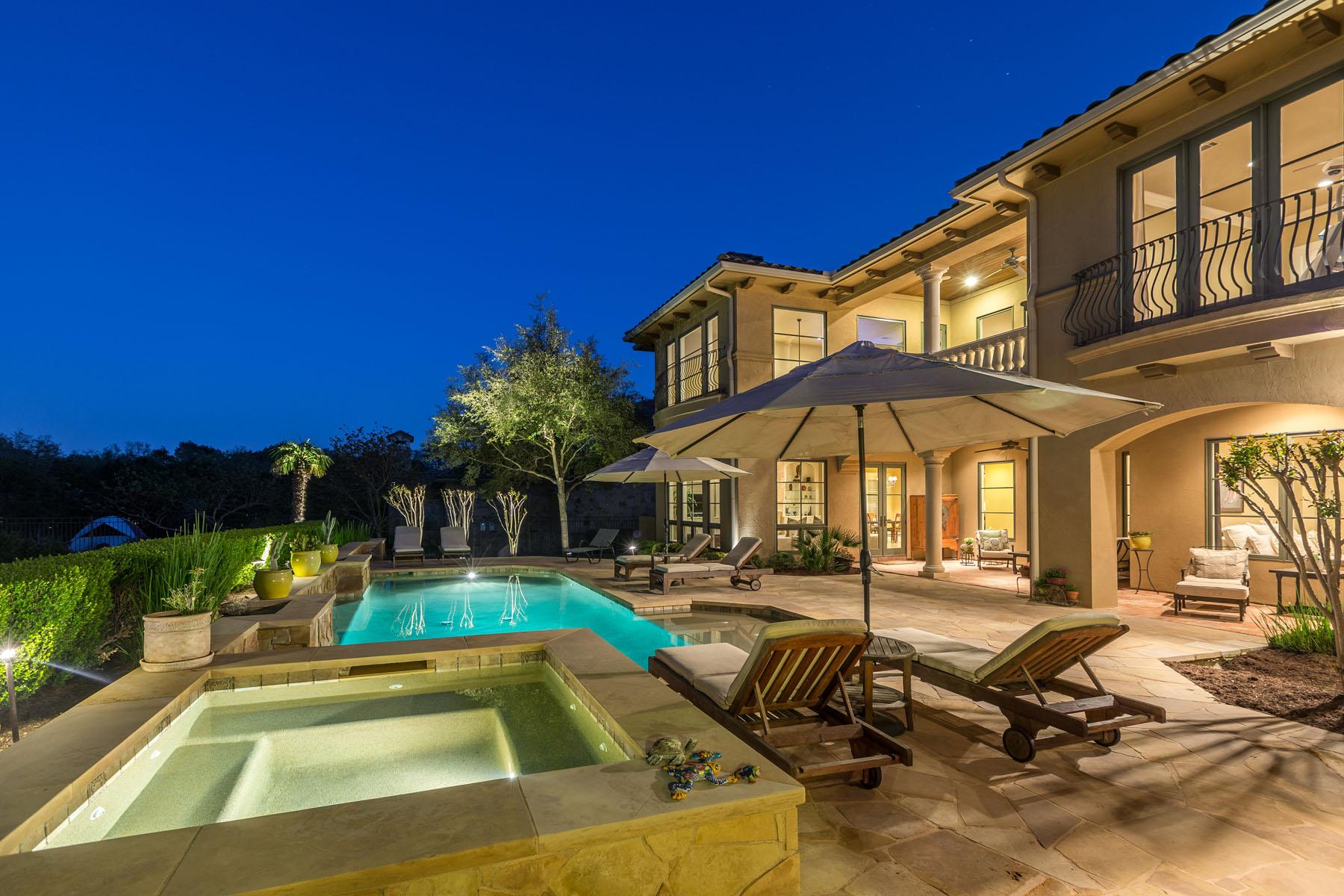 Casa Unifamiliar por un Venta en Sophisticated Barton Creek Estate 8416 Calera Dr Austin, Texas 78735 Estados Unidos