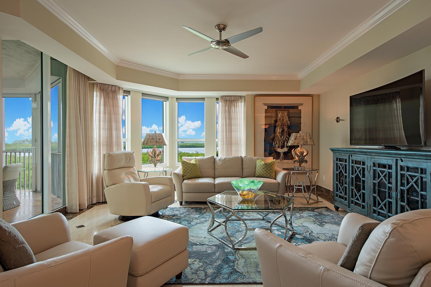 콘도미니엄 용 매매 에 GRANDE EXCELSIOR 285 Grande Way 501 Naples, 플로리다, 34110 미국