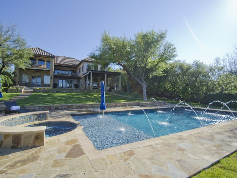 Single Family Home for Sale at Private Resort Style Living 105 Bella Cima Dr Austin, Texas 78734 United States