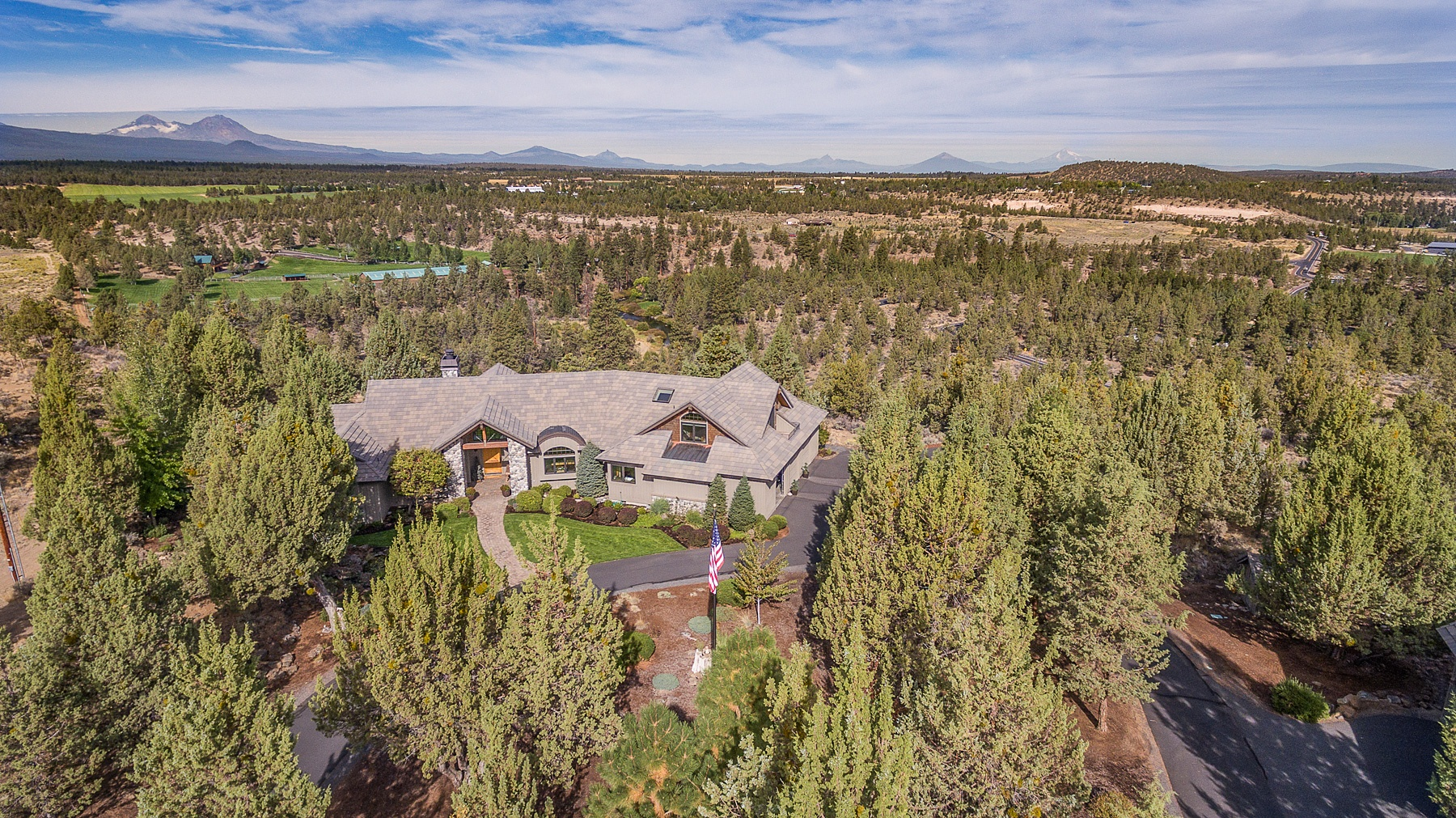 Property For Sale at Sweeping Mountain and Tumalo Views!