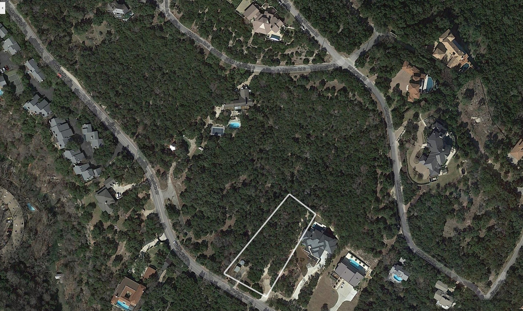 Land for Sale at Build Your Dream Home in Westlake 1870 Westlake Dr Lot 11 Austin, Texas 78746 United States