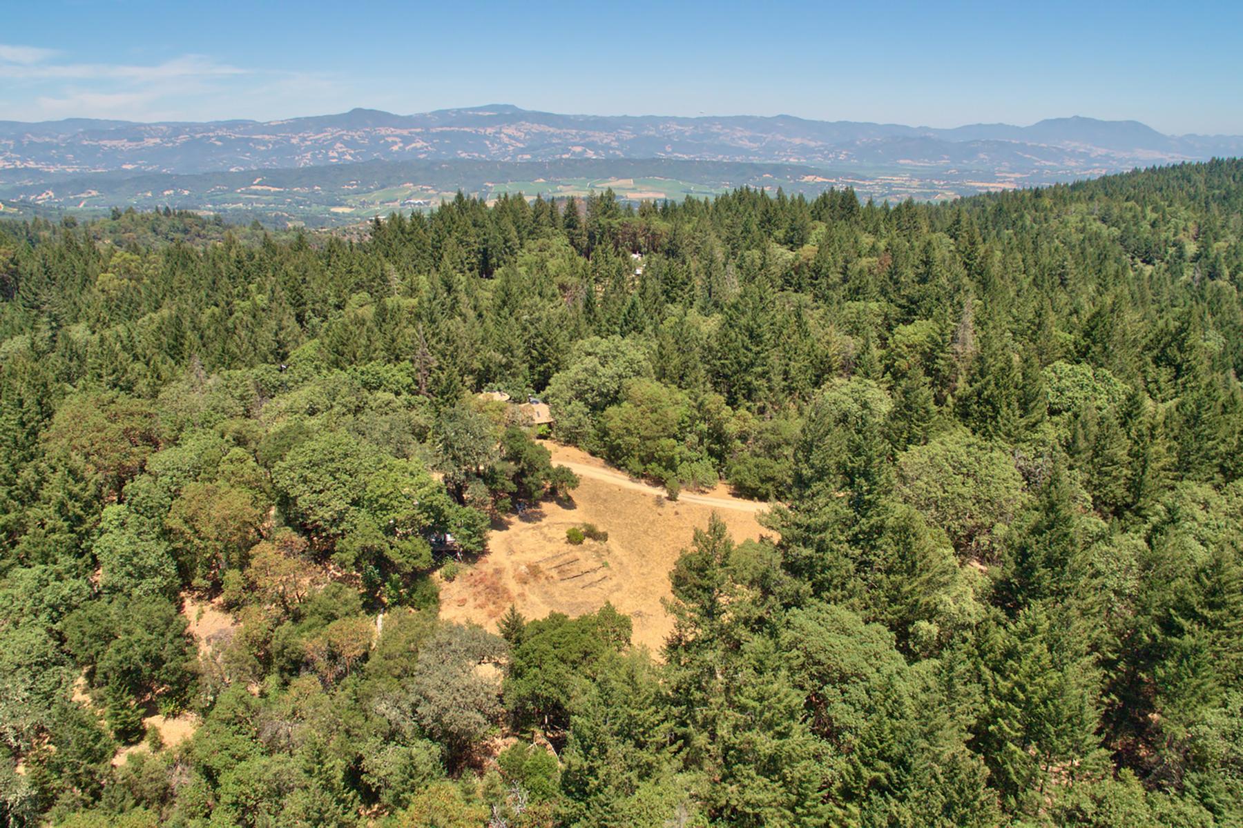 Земля для того Продажа на 2420 Big Ridge Rd, Healdsburg, CA 95448 2420 Big Ridge Rd Healdsburg, Калифорния, 95448 Соединенные Штаты