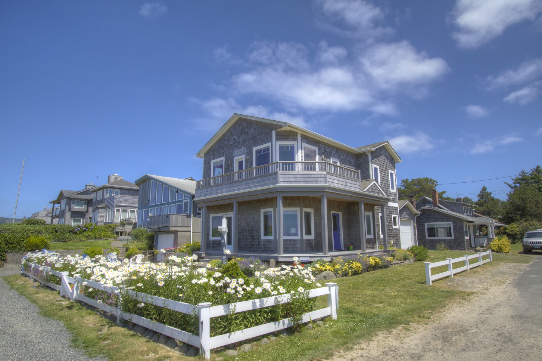 Single Family Home for Sale at Oceanfront Cannon Beach Home 188 Van Buren St Cannon Beach, Oregon 97110 United States